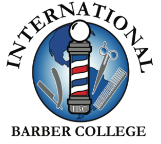 Internation Barber College Logo